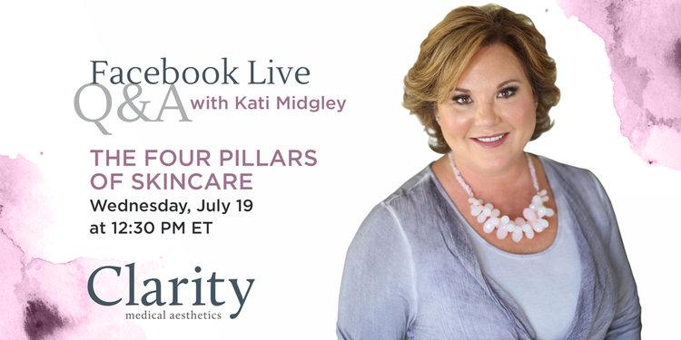 Facebook Live Recap: The 4 Pillars of Skincare