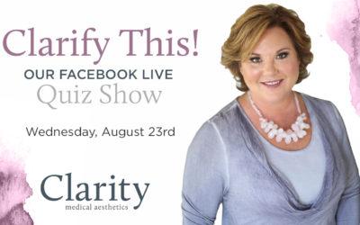 Facebook Live Recap + Bonus Questions: Clarify This!