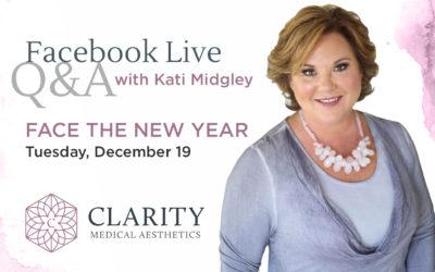 Facebook Live Recap: Face the New Year
